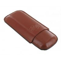 Etui double cigares Art et Volutes Maceo Tan - 8196