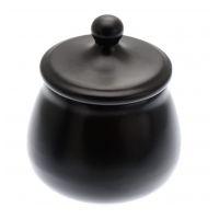 Pot à tabac Chacom en céramique Noir mat