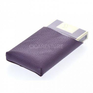 Etui à cigarettes slim1 violet (type vogue plat)