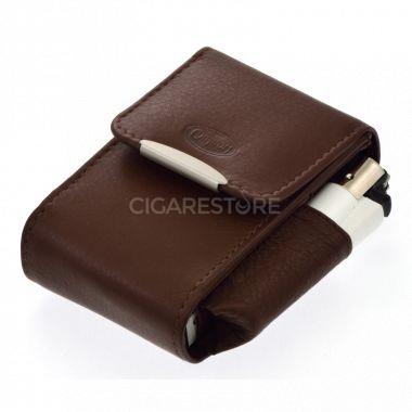 Etui pour paquets de cigarettes CC049 marron