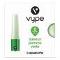 Capsules Saveur ePen* Vype - SAVEUR POMME VERTE (3 niveaux de nicotine)
