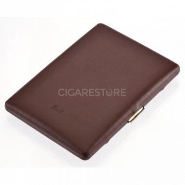 Etui à cigarettes Pearl brun - 04451BR