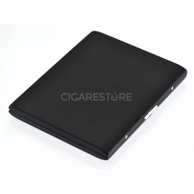 Etui à cigarettes métalique Pearl noir - 74069