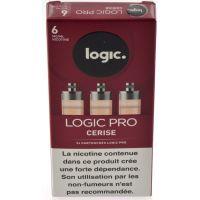 Cartouches Logic.Pro - Cerise ( 2 niveaux de nicotine )