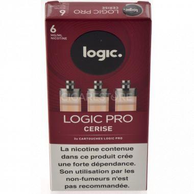 Cartouches Logic.Pro - Cerise (3 niveaux de nicotine )