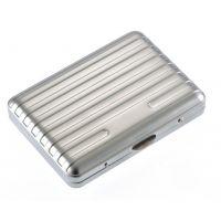 Étui à cigarettes métallique silver