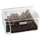 Cave à cigares Zino Acrylique Feuille de Tabac - 105044