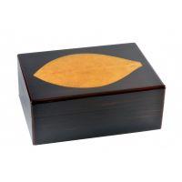 Humidor Zino Feuille de tabac Macassar - 04964