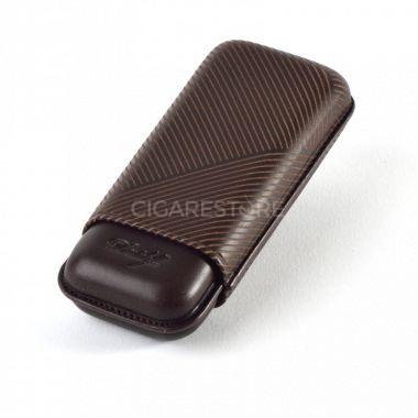 Davidoff Étui à cigares en cuir R-2 brown leaf - 105585