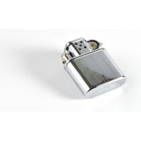 Briquet essence ZORRO CHROMÉ strié CS-0702010