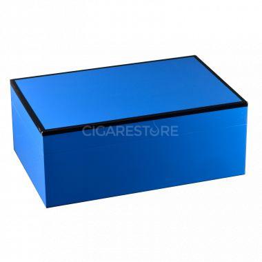 Cave cigares Bel Rive of Paris Grand Modèle bleue  : 105 cigares