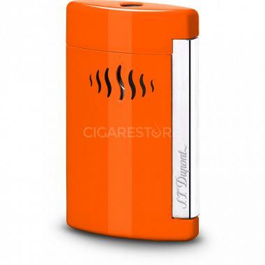 """Briquet gaz S.T. Dupont """"Mini Jet"""" - Coral orange"""