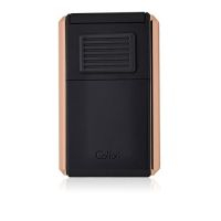 Briquet cigare triple flamme Colibri Astroria III - Black/Rose Gold