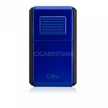 Briquet cigare triple flamme Colibri Astroria III - Blue/Black