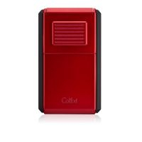Briquet cigare triple flamme Colibri Astroria III - Red/Black
