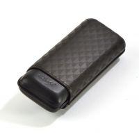 Davidoff Étui à cigares en cuir XL-2 cuir noir curing - 106760