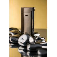 "Briquet gaz S.T. Dupont ""Slim 7"" - Brushed Gun Metal"