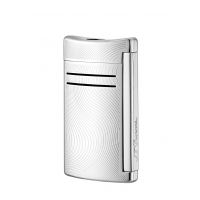 "Briquet gaz S.T. Dupont ""Maxi Jet"" - Chrome Grey Vibration"