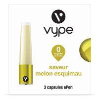 Capsules Saveur ePen* Vype - SAVEUR Melon Esquimeau ( 3 niveaux de nicotine)