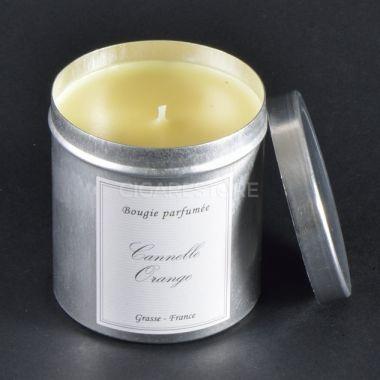 Bougie alu 240gr - Cannelle & Orange - Made In France