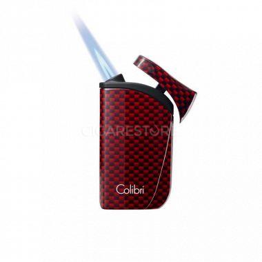 Briquet cigare Colibri Falcon Carbon fiber (coloris au choix)