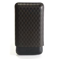 Davidoff Étui à cigares en cuir XL 3 cuir noir curing - 106757