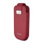 Pochette en cuir IQOS red(rouge) - 83406