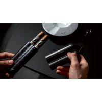 Etui Davidoff en fibre de carbone noir - XL-2 106914