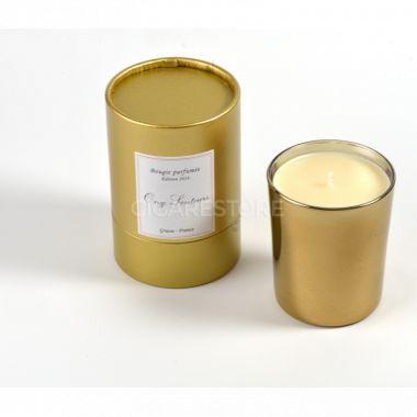 Bougie Verre Doré 180gr - Onze senteurs - Made In France