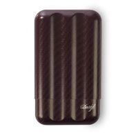 Etui Davidoff en fibre de carbone rouge - XL-3 109981