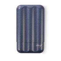 Etui Davidoff en fibre de carbone bleu - XL-3 109980