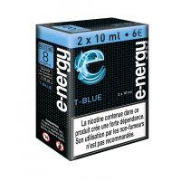 E-liquide e-nergy T blue 8 (pack 2 flacons)
