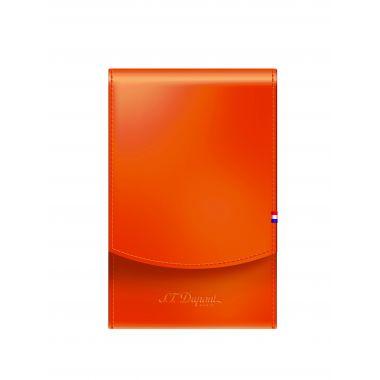 Étui paquet de cigarettes S.T. Dupont - orange