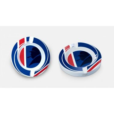 """Cendrier Davidoff """" Union Jack """" en porcelaine de Limoges (édition limitée) - 111783"""