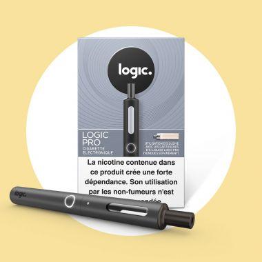 Cigarette électronique Logic.Pro Black «soft touch»