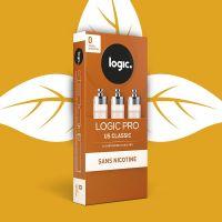 Cartouches Logic.Pro - Tabac Us Classic (5 niveaux de nicotine)