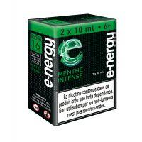 E-liquide e-nergy Menthe intense 16 (pack 2 flacons)