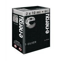 E-liquide e-nergy T silver 0 (pack 2 flacons)