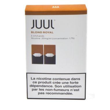Juulpod blond royal 1,7% (boite de 2 pods)
