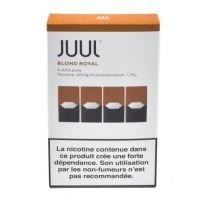 Juulpod blond royal 1,7% (boite de 4 pods)