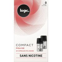 Pods Logic Compact fraise 0,6,12mg