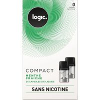 Pods Logic Compact menthe 0,6,12,18mg