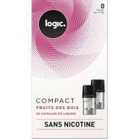 Pods Logic Compact fruits des bois 0,6,12mg