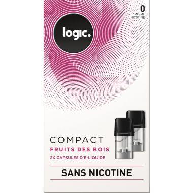 Pods Logic Compact fruits des bois 0,6,12mg