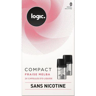 Pods Logic Compact fraise melba 0,6,12mg