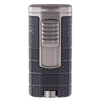 "Briquet cigare triple flamme Xikar ""Tactical"" - Gunmetal"