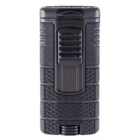 "Briquet cigare triple flamme Xikar ""Tactical"" - Noir"