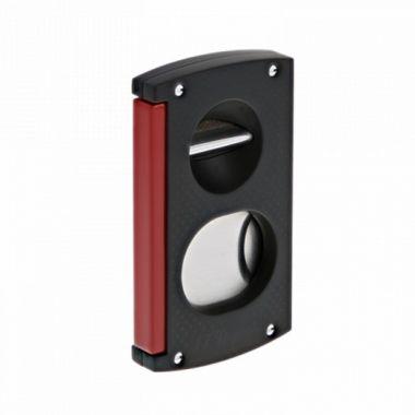 Coupe cigares Dupont noir et rouge - 003420
