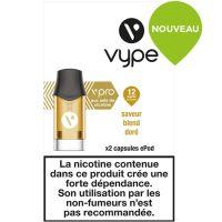 Capsules ePod Saveur Blend Doré sels de nicotine( 2 niveaux de nicotine)
