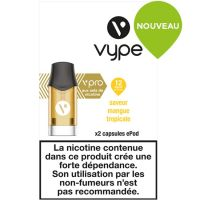 Capsules ePod Saveur Mangue Tropicale sels de nicotine( 2 niveaux de nicotine)